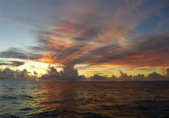 Atlantik Wolken 5