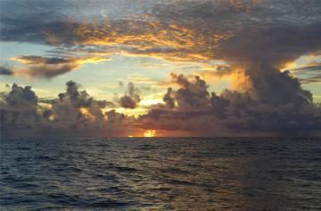 Atlantik Wolken 6