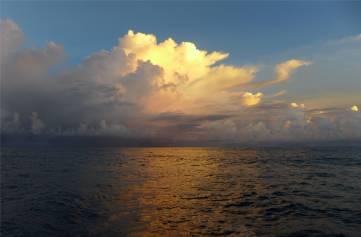 Atlantik Wolken 7