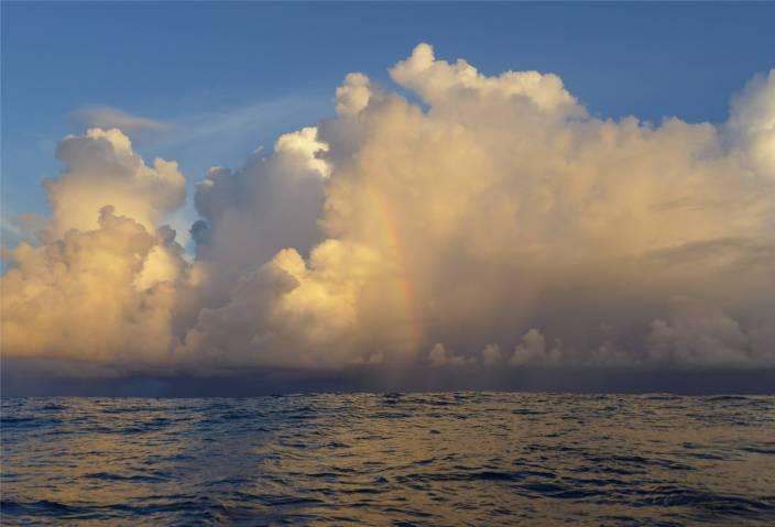 Atlantik Wolken 8