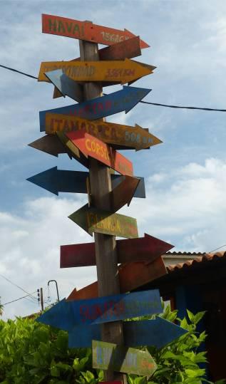 Fernando in der Mitte der Welt