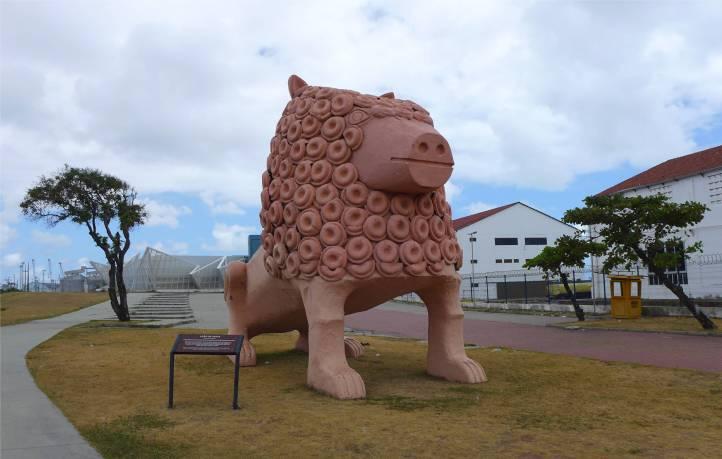 Recife Löwe oder Schwein