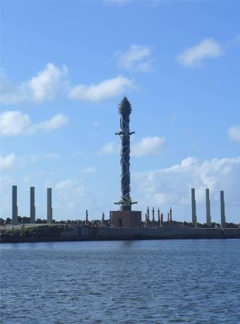 Recife Sculpturen auf der Mole