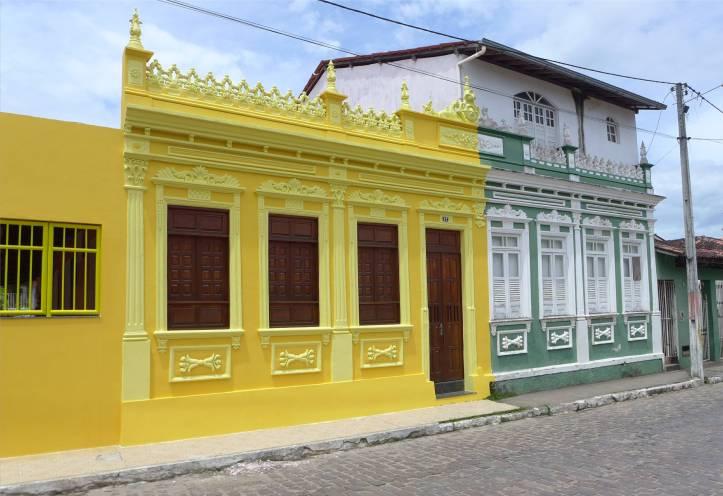 Maragogipe alte Fassade und neues Haus