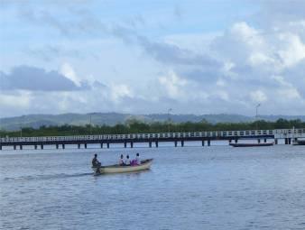 Maragogipe die lange Pier