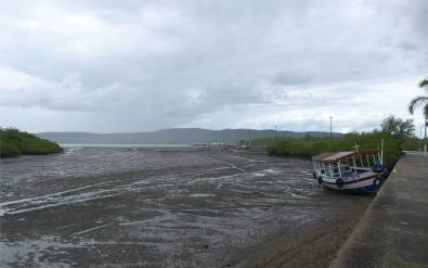 Maragogipe Hafen ohne Wasser