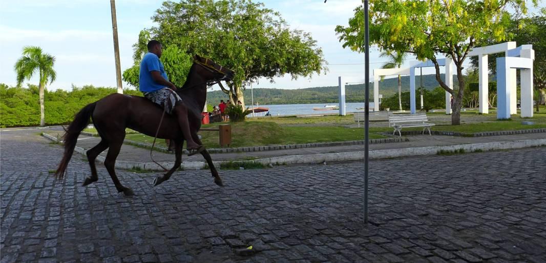 Maragogipe Pferdeverkehr