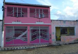 Maragogipe pink und vergittert