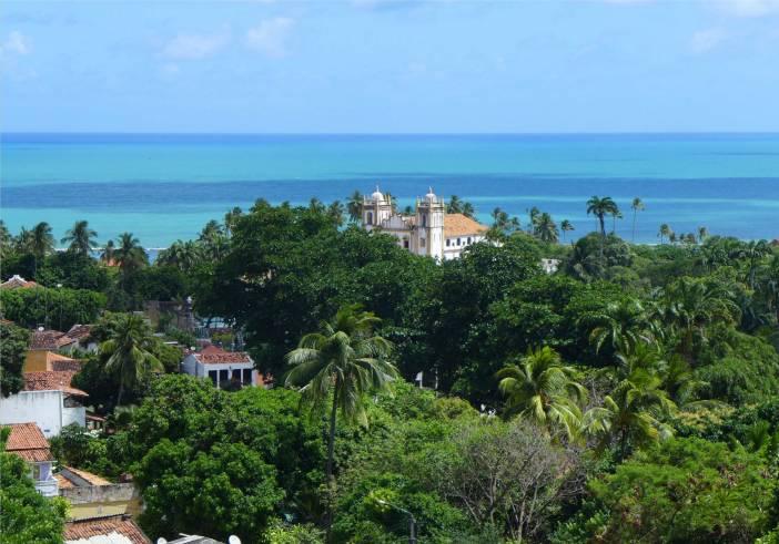 Olinda Blick auf den unteren Teil der Stadt