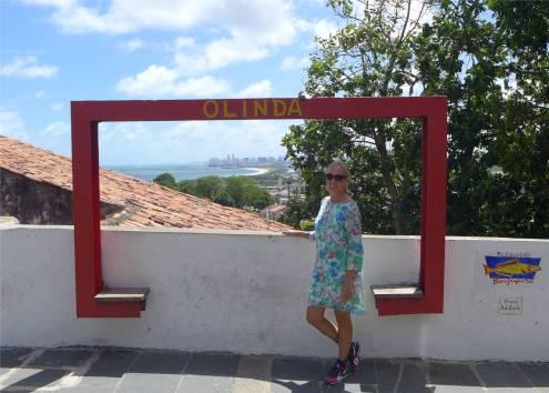 olinda steht dran ist aber der Blick auf Recife