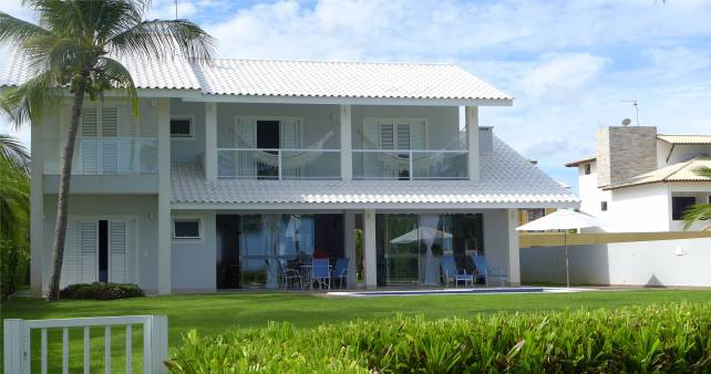 Praia do Forte Haus am Strand so lässt es sich leben