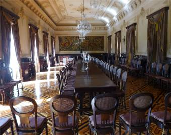 Recife Gouverneurspalast Ballsaal