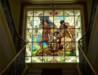 Recife Gouverneurspalast Glasfenster Revolution Pernambucco