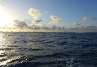Recife im Abendlicht