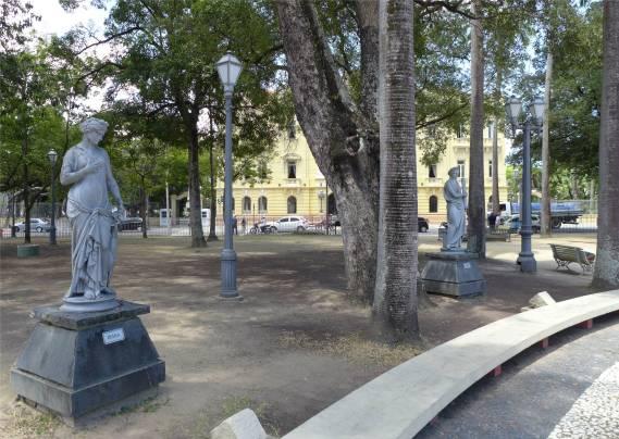 Recife Park am Gouverneurspalast
