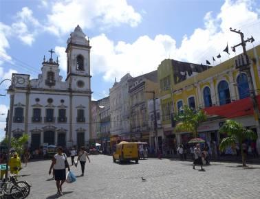 Recife schon wieder eine Kirche