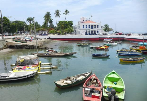 Salvador altes Hafenbecken