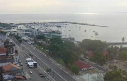 Salvador Blick auf die Bahia Marina