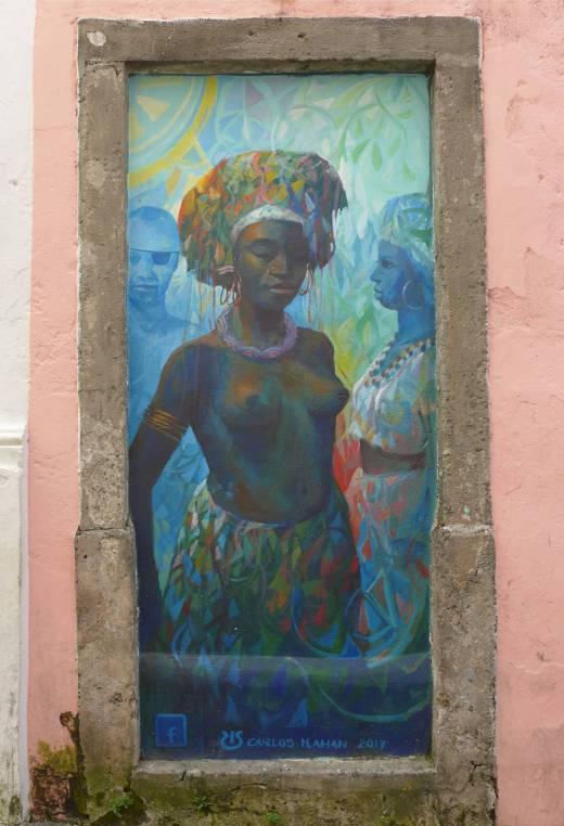 Salvador Kunst in Pelourinho