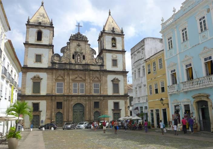 Salvador mal wieder eine Kirche Sao Francisco