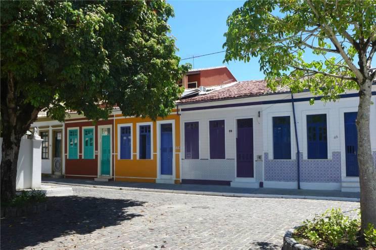 Itaparica bunte Häuser gibt es auch in klein