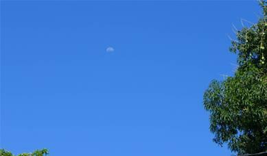 Itaparica ein Mond wie ein Regenschirm