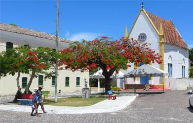 Itaparica kleine Kirche