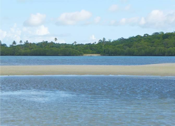 Itaparica kleiner Strand