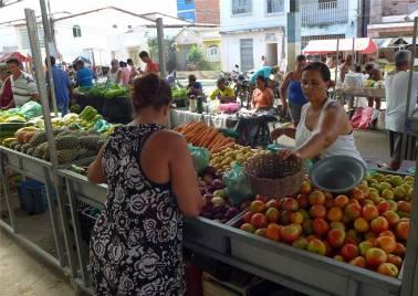 Maragogipe bunter Markt