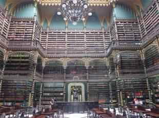 Rio Bibliothek besser als bei Harry Potter