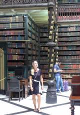 Rio Bibliothek ganz schön hoch