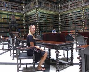 Rio Bibliothek hier würde ich gerne mal lesen