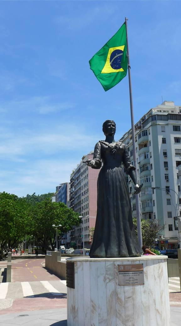 Rio Isabel winkt zum Abschied
