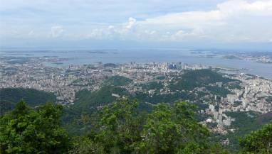 Rio nur ein Teil der gigantischen Stadt