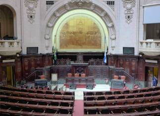 Rio Palacio Tridentes 70 Abgeordnete vertreten hier das Volk