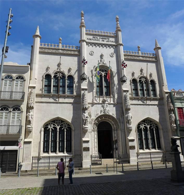 Rio portugiesische Bibliothek