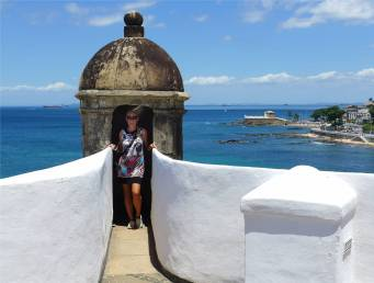 Salvador Forte Santo Antonio schöne Aussicht