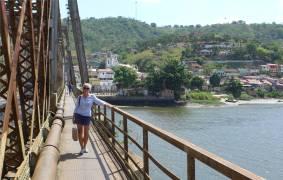 Sao Felix auf der Brücke