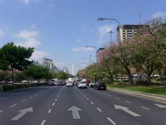 BA Avenida 9 Julio und der Obelisk