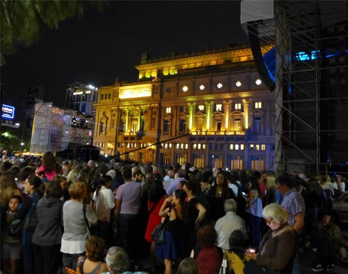 BA Konzert am Teatro Colon