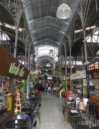 BA Mercado San Telmo Futterläden und Antiquitäten