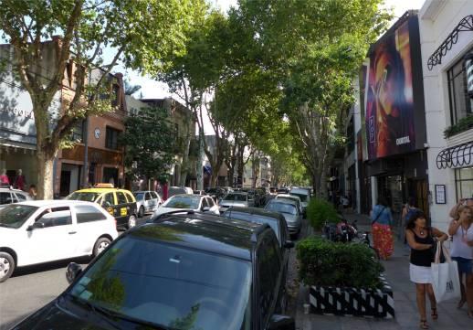BA nette Einkaufsstraßen in Palermo