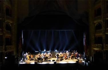 BA Teatro Colon gerade ist Probe also gab es auch was für die Ohren