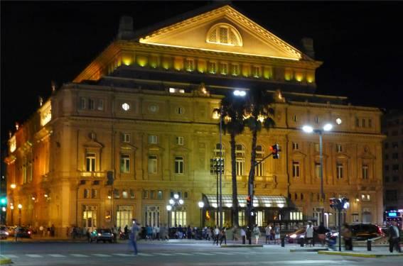 BA Teatro Colon von der Rückseite