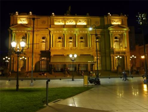 BA Teatro Colon von der Vorderseite