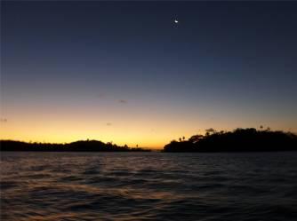 Brasilien Abendstimmung