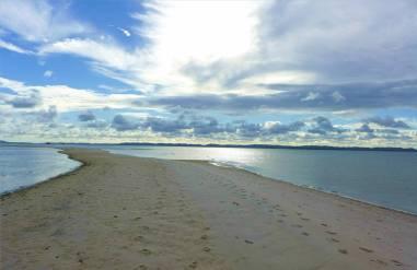 Brasilien Ruhe auf der Sandbank