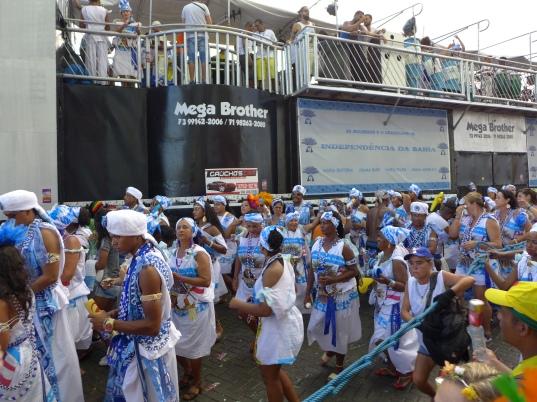 Carnaval die Töchter Gandis