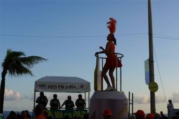 Carnaval Samba Mädels gibt es auch in Salvador