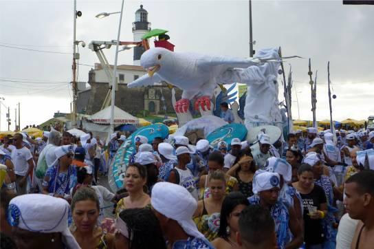 Carnaval Söhne Gandhis und die Friedenstaube